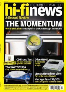 2011 - Hi-Fi News Review - Dan D'Agostino Momentum M300 Mono Amplifier - Norman Audio