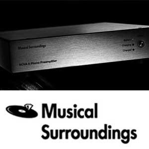 Musical Surroundings Logo - Norman Audio