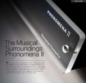 2008 - Tone Audio - Musical Surroundings Phonomena II