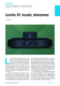 2019 - HiFi+ - Lumin X1