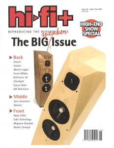 2003 - Hi-Fi Plus - Avalon Ascendant - Norman Audio