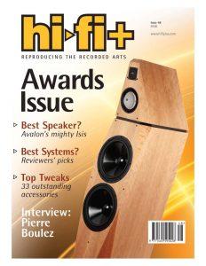 2006 - Hi-Fi Plus Review - Avalon Isis - Norman Audio