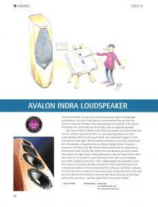 2007 - Hi-Fi Plus Review - Avalon Indra - Norman Audio