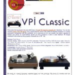 2010 - 6 Moons Review - VPI Classic - Norman Audio
