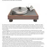 2011 - Hi-Fi News Review - VPI Classic - Norman Audio