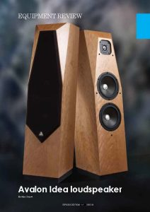 2011 - Hi-Fi Plus Review - Avalon Idea - Norman Audio