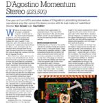 2012 - Hi-Fi News Review - Dan D'Agostino Momentum S200 Stereo Amplifier - Norman Audio