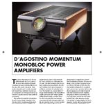 2013 - Australian Hi-Fi Review - Dan D'Agostino Momentum M300 Mono Amplifier - Norman Audio