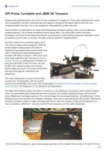 2015 - 10 Audio Review - VPI Prime - Norman Audio