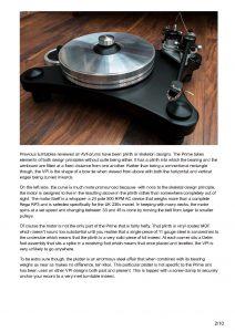 2015 - AV Forums Review - VPI Prime - Norman Audio