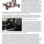 2017 - Audiophilia Review - VPI Prime - Norman Audio