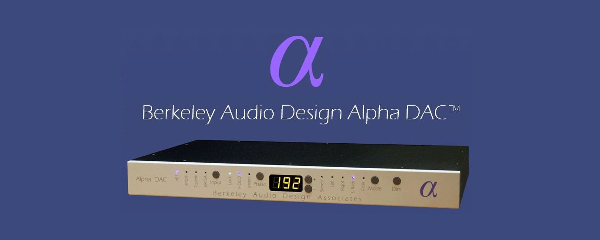 Berkeley Audio Design Banner 2 - Norman Audio