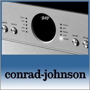 Conrad Johnson Logo (Blue) - Norman Audio