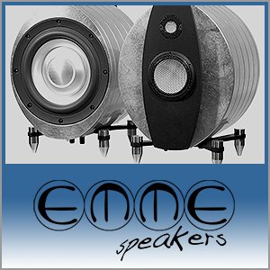 Emme Speakers Logo (Blue) - Norman Audio