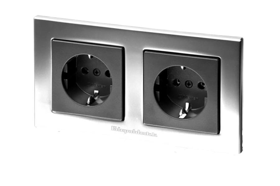 GigaWatt Wall Socket G-044l Duplex - Norman Audio