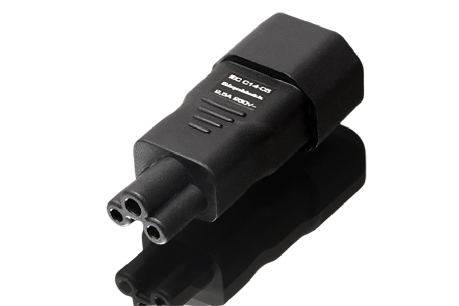 Gigawatt IEC320 C5 Plug Adapter - Norman Audio