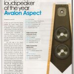 HiFi Plus Award - Avalon Aspect - Norman Audio