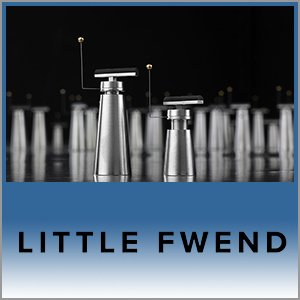 Little Fwend Logo (Blue) - Norman Audio