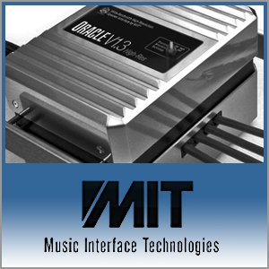 MIT Cables Logo (Blue) - Norman Audio