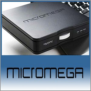 Micromega Logo (Blue) - Norman Audio