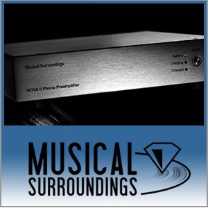 Musical Surroundings Logo (Blue) - Norman Audio