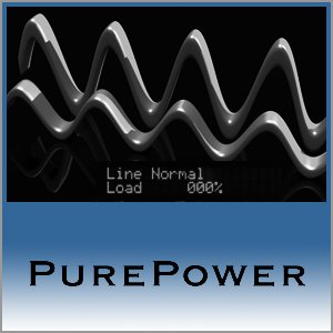 Pure Power Logo (Blue) - Norman Audio