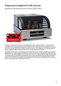 The Ear - PrimaLuna EVO 100 DAC