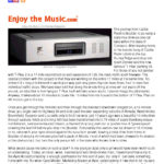 2002 - Enjoy The Music - Ayre Ax-7e