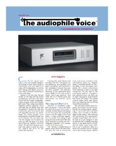 2004 - The Audiophile Voice - Ayre Cx-7eMP