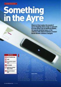 2006 - Hi-Fi Choice - Ayre P-5xe - Norman Audio