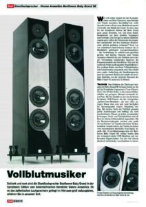 2013 - Hi-Fi Test Germany - Beethoven Baby Grand Symphony Edition