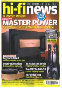 2016 - Hi-Fi News - Dan D'Agostino Master Power Classic Stereo