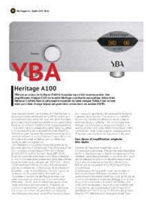 2016 - On Magazine (French) - YBA Heritage A100