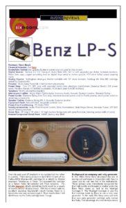 6 Moons - Benz Micro LP-S