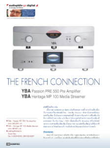 Audiophile Thailand - YBA Passion PRE550A & Heritage MP100