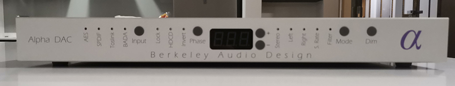Used Berkeley Audio Design DAC Series 2 - Norman Audio