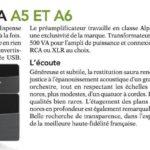 Diapason (French) - YBA Genesis A6 & PRE5