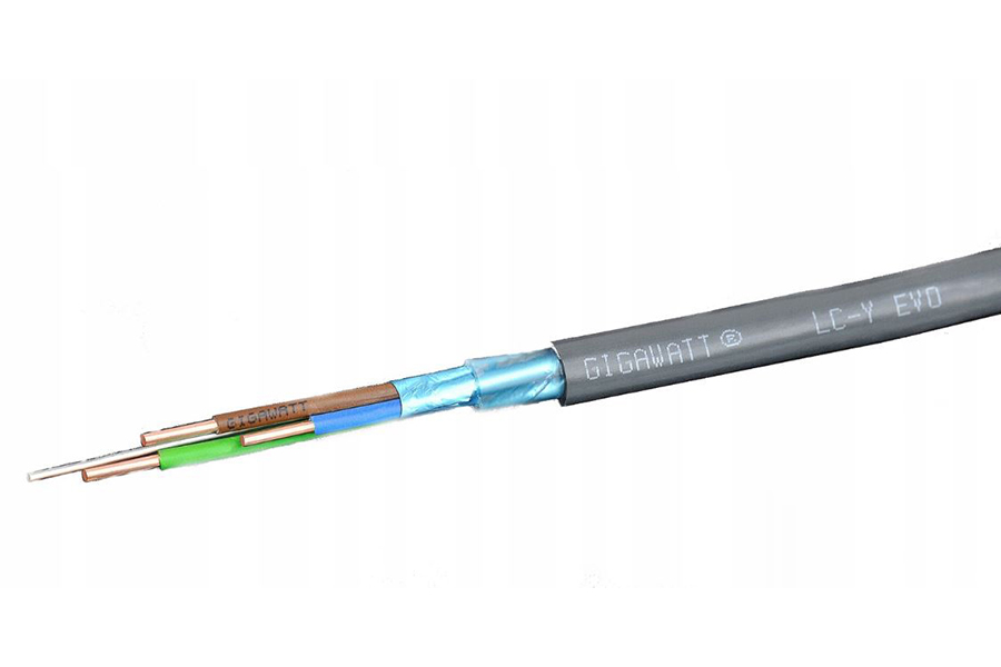In-Wall Cable GigaWatt LC-Y EVO 3X4 - Norman Audio