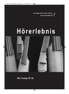 Hörerlebnis - YBA Heritage CD100