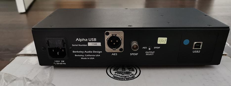 Used Berkeley Alpha USB - Norman Audio