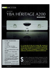 Vumetra (French) - YBA Heritage A200