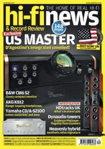 2014 - Hi-Fi News Review - Dan D'Agostino Momentum Integrated Amplifier