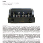2014 - Positive Feedback Review - PrimaLuna DiaLogue Premium Preamplifier