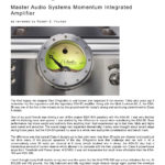 2015 - Positive Feedback Review - Dan D'Agostino Momentum Integrated Amplifier