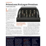 2016 - Stereophile Review - PrimaLuna ProLogue Premium Power Amplifier