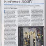 2017 - Hi-Fi News Review - PurePower 2000+