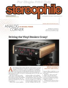 2017 - Stereophile Review - Dan D'Agostino Momentum Phonostage