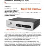 2018 - Enjoy The Music Review - VPI Voyager Phonostage