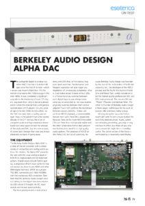 Australian Hi-Fi - Berkeley Audio Design Alpha DAC
