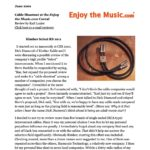2001 - Enjoy The Music Review - Kimber Kable KS 1011